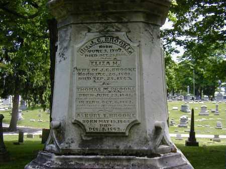 BROOKE, ELIZA H. - Preble County, Ohio | ELIZA H. BROOKE - Ohio Gravestone Photos