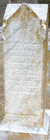 BROWER, CATHARINE - Preble County, Ohio   CATHARINE BROWER - Ohio Gravestone Photos