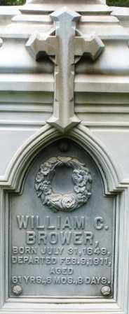 BROWER, WILLIAM C. - Preble County, Ohio   WILLIAM C. BROWER - Ohio Gravestone Photos