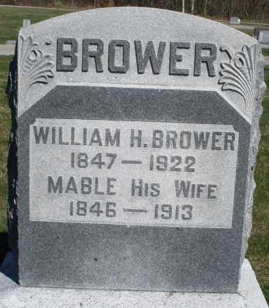 BROWER, WILLIAM H. - Preble County, Ohio | WILLIAM H. BROWER - Ohio Gravestone Photos