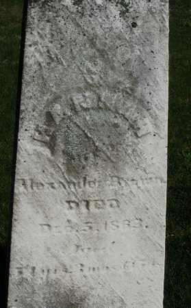 BROWN, HANNAH - Preble County, Ohio | HANNAH BROWN - Ohio Gravestone Photos