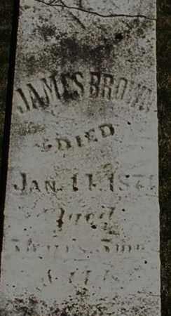 BROWN, JAMES - Preble County, Ohio | JAMES BROWN - Ohio Gravestone Photos