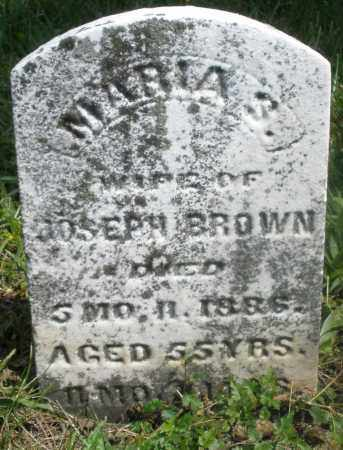 BROWN, MARIA S. - Preble County, Ohio | MARIA S. BROWN - Ohio Gravestone Photos
