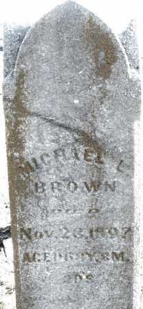 BROWN, MICHAEL L. - Preble County, Ohio | MICHAEL L. BROWN - Ohio Gravestone Photos