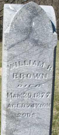 BROWN, WILLIAM R. - Preble County, Ohio | WILLIAM R. BROWN - Ohio Gravestone Photos