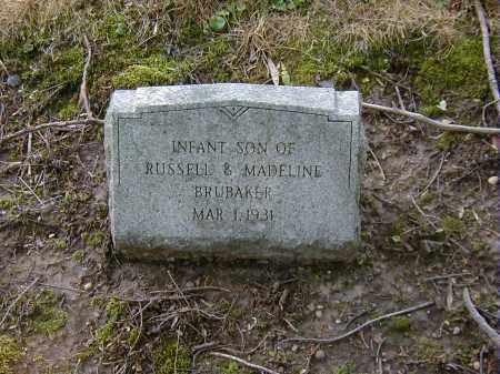 BRUBAKER, INFANT - Preble County, Ohio   INFANT BRUBAKER - Ohio Gravestone Photos