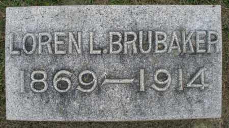 BRUBAKER, LOREN L. - Preble County, Ohio   LOREN L. BRUBAKER - Ohio Gravestone Photos