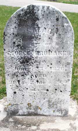 BRUBAKER, SARAH - Preble County, Ohio   SARAH BRUBAKER - Ohio Gravestone Photos