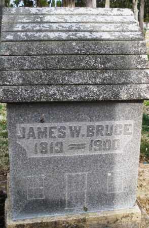 BRUCE, JAMES W. - Preble County, Ohio | JAMES W. BRUCE - Ohio Gravestone Photos