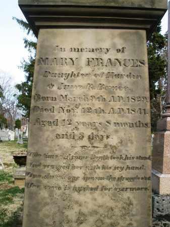 BRUCE, MARY FRANCES - Preble County, Ohio | MARY FRANCES BRUCE - Ohio Gravestone Photos