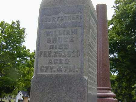 BRUCE, WILLIAM - Preble County, Ohio | WILLIAM BRUCE - Ohio Gravestone Photos