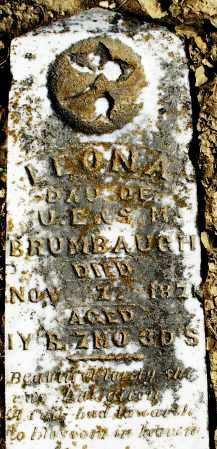 BRUMBAUGH, LEONA - Preble County, Ohio   LEONA BRUMBAUGH - Ohio Gravestone Photos