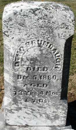 BRUMBAUGH, OTHO - Preble County, Ohio   OTHO BRUMBAUGH - Ohio Gravestone Photos
