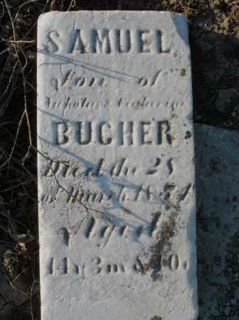 BUCHER, SAMUEL - Preble County, Ohio | SAMUEL BUCHER - Ohio Gravestone Photos