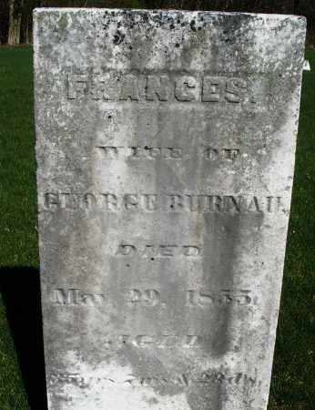 BURNAU, FRANCES - Preble County, Ohio   FRANCES BURNAU - Ohio Gravestone Photos