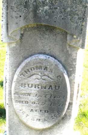 BURNAU, THOMAS - Preble County, Ohio | THOMAS BURNAU - Ohio Gravestone Photos
