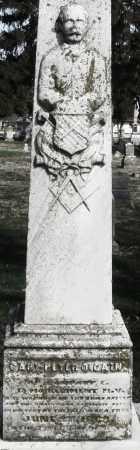 CAIN, PETER MONUMENT - Preble County, Ohio   PETER MONUMENT CAIN - Ohio Gravestone Photos