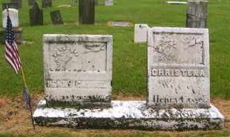 CASSEL, CHRISTINA - Preble County, Ohio | CHRISTINA CASSEL - Ohio Gravestone Photos
