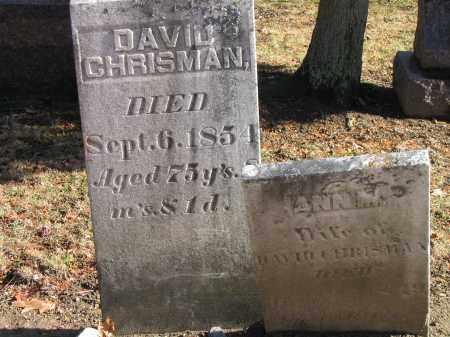CHRISMAN, ANN M - Preble County, Ohio | ANN M CHRISMAN - Ohio Gravestone Photos