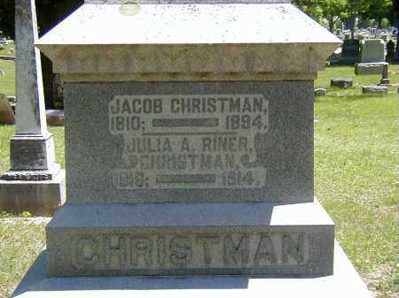 CHRISTMAN, JACOB - Preble County, Ohio | JACOB CHRISTMAN - Ohio Gravestone Photos