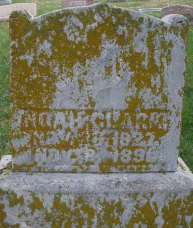 CLARK, NOAH - Preble County, Ohio   NOAH CLARK - Ohio Gravestone Photos