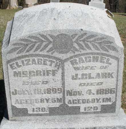 CLARK, RACHEL - Preble County, Ohio | RACHEL CLARK - Ohio Gravestone Photos