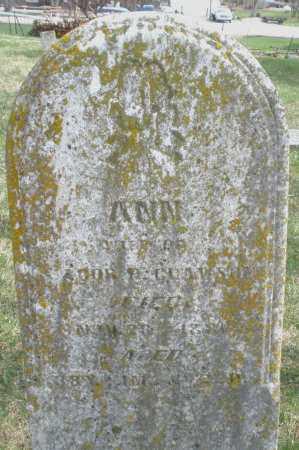CLAWSON, ANN - Preble County, Ohio | ANN CLAWSON - Ohio Gravestone Photos