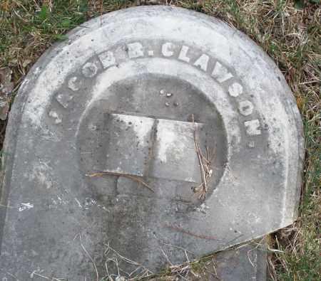 CLAWSON, JACOB - Preble County, Ohio   JACOB CLAWSON - Ohio Gravestone Photos