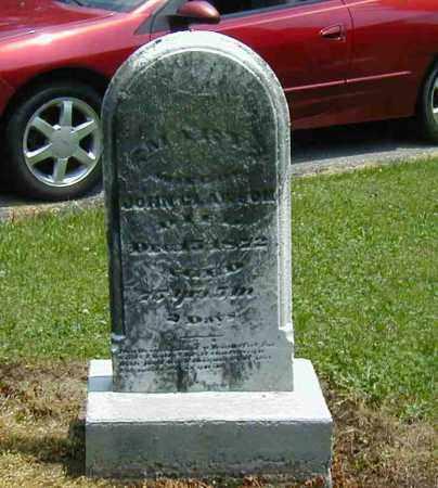 CLAWSON, MARY - Preble County, Ohio | MARY CLAWSON - Ohio Gravestone Photos