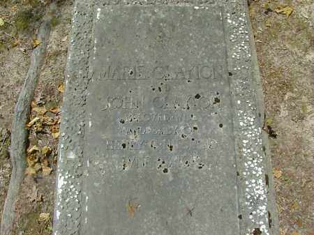 CLAYTON, JOHN - Preble County, Ohio | JOHN CLAYTON - Ohio Gravestone Photos