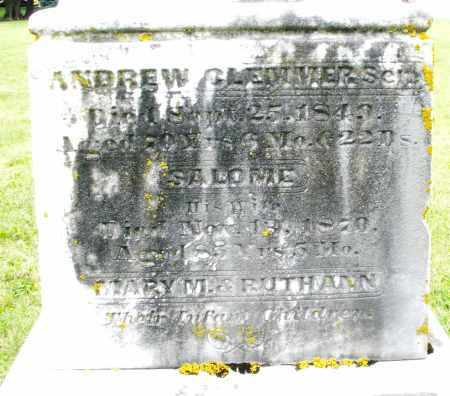CLEMMER, MARY A. - Preble County, Ohio | MARY A. CLEMMER - Ohio Gravestone Photos