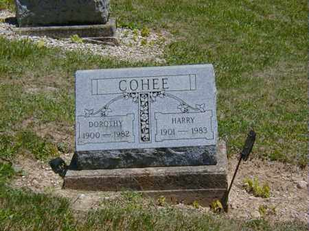 COHEE, HARRY - Preble County, Ohio | HARRY COHEE - Ohio Gravestone Photos