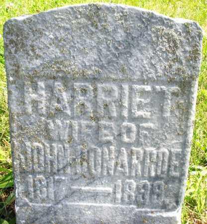 CONARROE, HARRIET - Preble County, Ohio | HARRIET CONARROE - Ohio Gravestone Photos