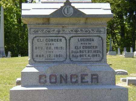 CONGER, ELI - Preble County, Ohio | ELI CONGER - Ohio Gravestone Photos