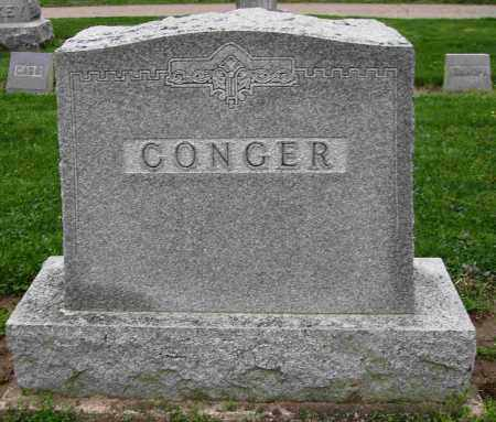 CONGER, MONUMENT - Preble County, Ohio   MONUMENT CONGER - Ohio Gravestone Photos