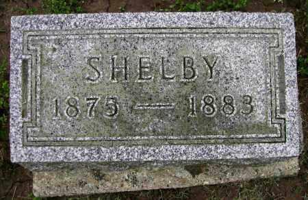 CONGER, SHELBY - Preble County, Ohio | SHELBY CONGER - Ohio Gravestone Photos