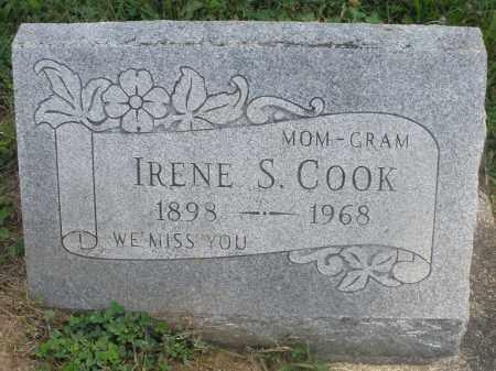 COOK, IRENE S. - Preble County, Ohio | IRENE S. COOK - Ohio Gravestone Photos