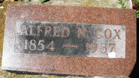 COX, ALFRED N. - Preble County, Ohio | ALFRED N. COX - Ohio Gravestone Photos