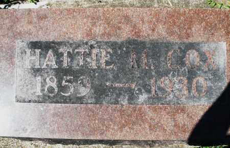 COX, HATTIE M. - Preble County, Ohio | HATTIE M. COX - Ohio Gravestone Photos