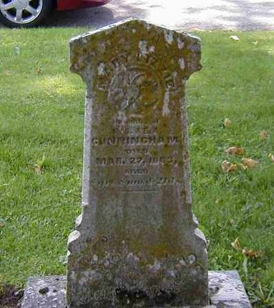 CUNNINGHAM, MARY LIZZIE - Preble County, Ohio | MARY LIZZIE CUNNINGHAM - Ohio Gravestone Photos