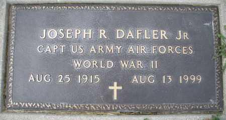 DAFLER, JOSEPH R. - Preble County, Ohio | JOSEPH R. DAFLER - Ohio Gravestone Photos