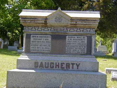 DAUGHERTY, SARAH - Preble County, Ohio | SARAH DAUGHERTY - Ohio Gravestone Photos