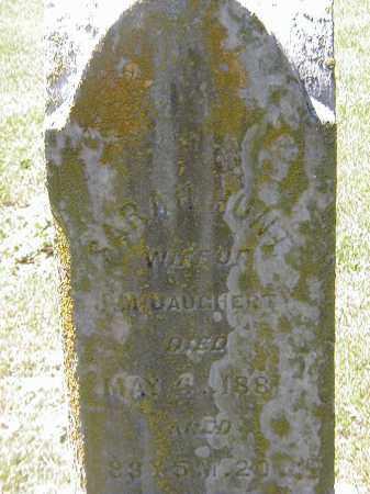 DAUGHERTY, SARAH HUNT - Preble County, Ohio | SARAH HUNT DAUGHERTY - Ohio Gravestone Photos