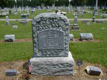 DAY, CAROLINE - Preble County, Ohio | CAROLINE DAY - Ohio Gravestone Photos