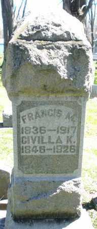 DEMOTTE, CIVILLA K. - Preble County, Ohio   CIVILLA K. DEMOTTE - Ohio Gravestone Photos