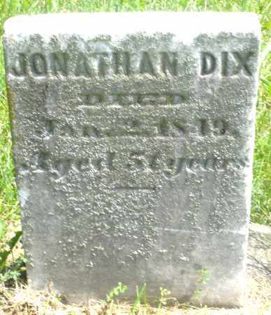 DIX, JONATHAN - Preble County, Ohio | JONATHAN DIX - Ohio Gravestone Photos