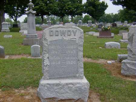 DOWDY, SUSAN F. - Preble County, Ohio | SUSAN F. DOWDY - Ohio Gravestone Photos