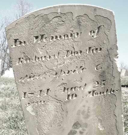DOWLER, RICHARD - Preble County, Ohio   RICHARD DOWLER - Ohio Gravestone Photos