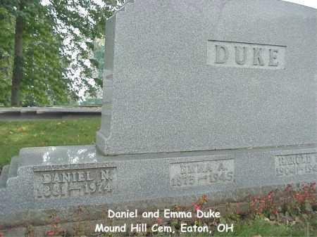 DUKE, DANIEL - Preble County, Ohio | DANIEL DUKE - Ohio Gravestone Photos
