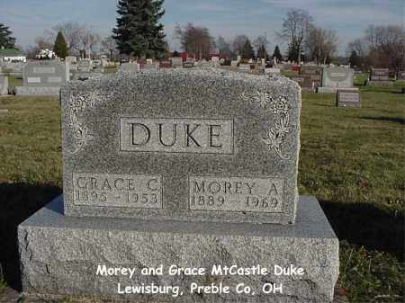 MTCASTLE DUKE, GRACE C - Preble County, Ohio | GRACE C MTCASTLE DUKE - Ohio Gravestone Photos